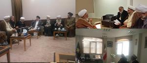 خبر تصویری از دیدار کارگزاران کنگره با علمای قم