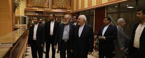 خبر تصویری دیدار وزیر امور خارجه از دبیرخانه کنگره