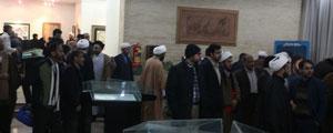 گزارش تصویری از افتتاحیه آثار هنری کنگره بازخوانی ابعاد شخصیتی امام علی (ع)