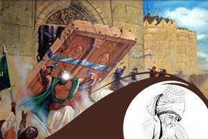 شعر علی (ع) در خیبر از مولوی