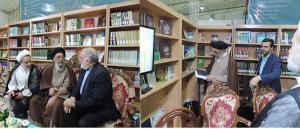 خبر تصویری از غرفه کنگره در  نمایشگاه کتاب اصفهان