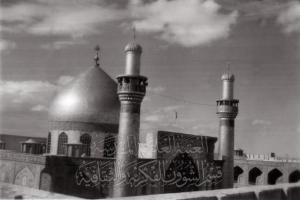 تصویر قدیمی از حرم مطهر امام علی علیه السلام