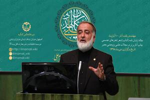 مصاحبه حاج سیدحسین رضازاده دبیر اجرایی کنگره با روزنامه اصفهان زیبا