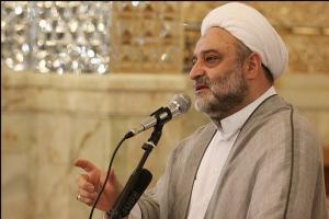 سخنرانی کوتاه حجتالاسلاموالمسلمین فرحزاد: حب به امام علی علیه السلام