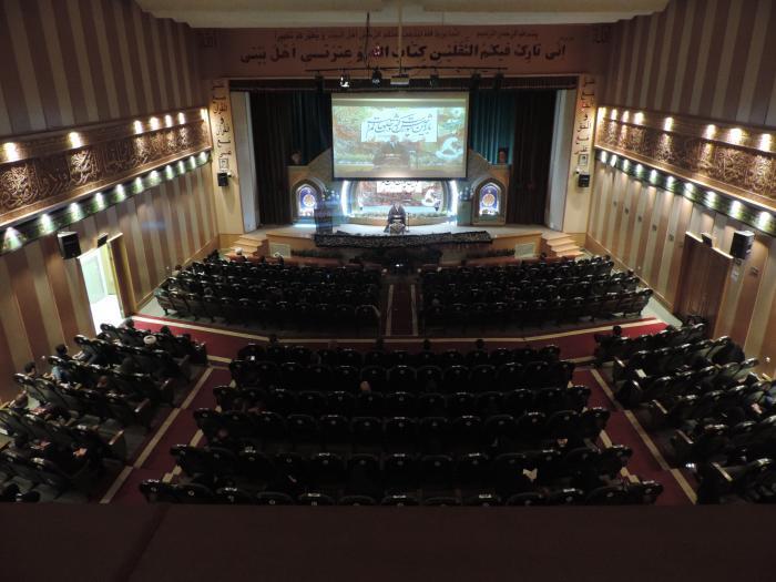 برگزاری مراسم تاسوعا و عاشورای حسینی با رعایت پروتکل های بهداشتی در موسسه اهل البیت (ع) اصفهان